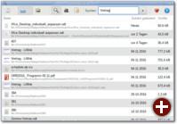 Volltextsuche mit Tracker