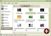 Der neue Dateimanager Thunar
