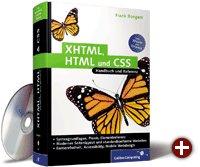 Cover von XHTML, HTML und CSS