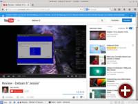 Keine Probleme mit Youtube-Videos, aber für Flash-basierte Seiten ist ein Firefox-basierter Browser nicht brauchbar