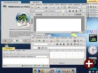 ZevenOS mit mehreren Anwendungen
