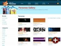 Zu Zehntausenden verfügbar: Personas für Firefox