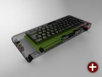 ZX Spectrum Next - Designstudie