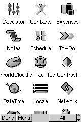 Mit dem Launch Pad können Programme gestartet werden