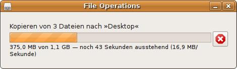 Abbildung 1: Aktueller Dateidialog von Nautilus