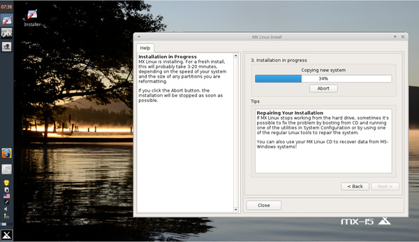 Antix MX 15 Beta 1 setzt weiterhin auf SysVinit - Pro-Linux