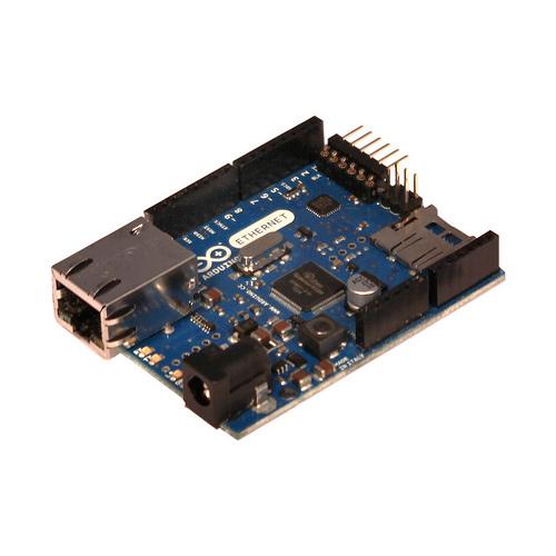 Arduino Ethernet with PoE module :: Solarbotics