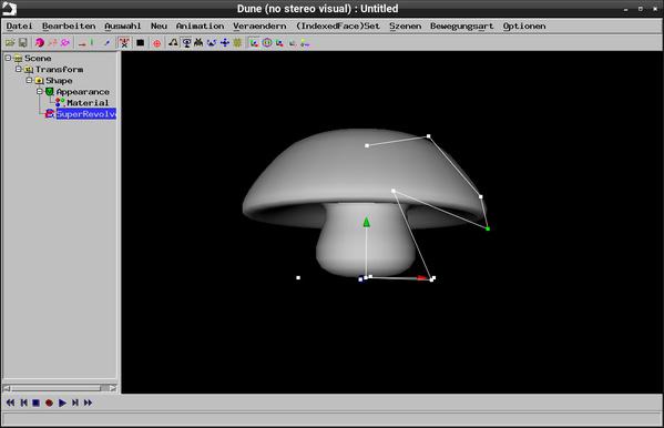 Bild 3: Modell mit verschobenen Punkten