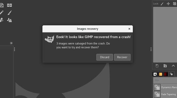Bildwiederherstellung in Gimp 2.10