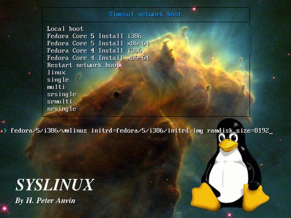 Bootloader Syslinux