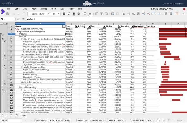 Collabora Online 3.0 - Calc