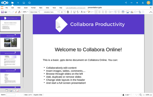 Collabora Online 4.0 – Präsentation