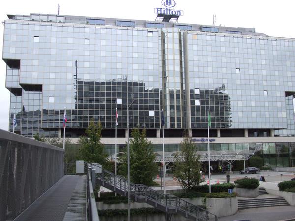 Das Hilton-Hotel in Prag