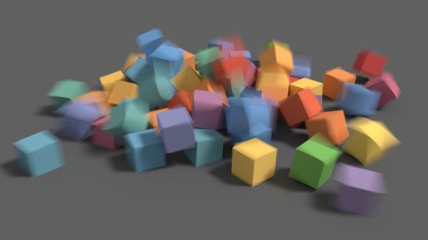 Die neue Bewegungsunschärfe in Blender 2.64