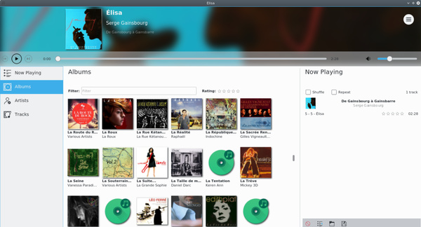 Elisa Music Player