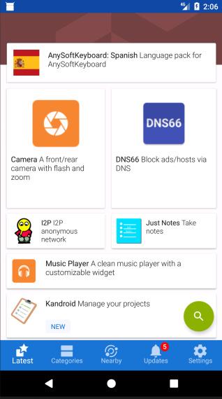 verstecke es Apps für Android