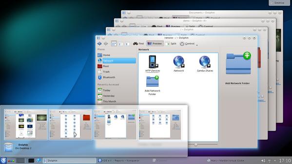 Fenstergruppierung in KDE 4.10