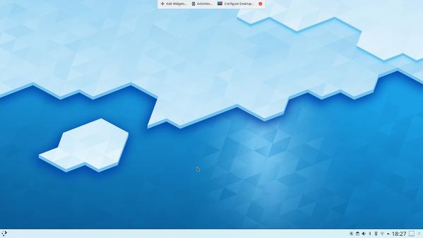 Globaler Editiermodus zur Desktop-Anpassung in Plasma 5.18
