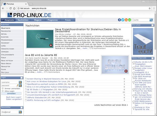 Google Chrome 65