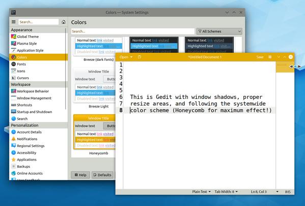 GTK-Theme-Integration in Plasma 5.18