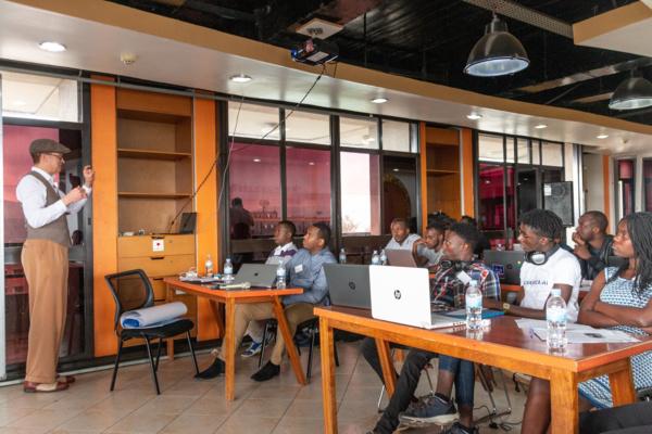 Hackathon zu Deep Speech und Common Voice in Kigali