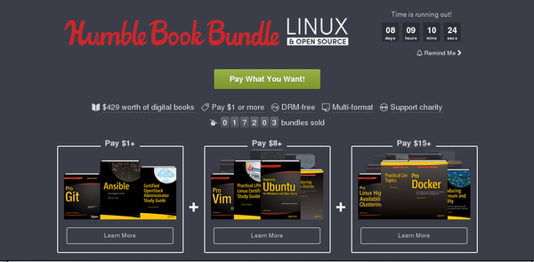 Humble Book Bundle Linux & Open Source