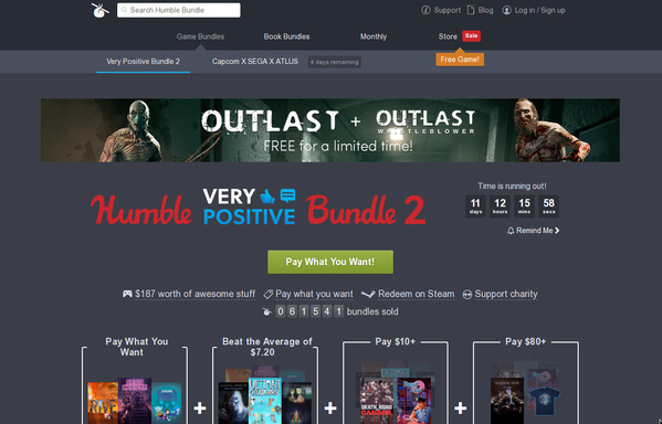 »Humble Very Positive Bundle 2«