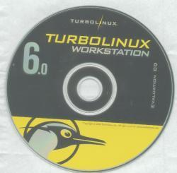 Die Evaluation-CD von TurboLinux für Workstation 6.0