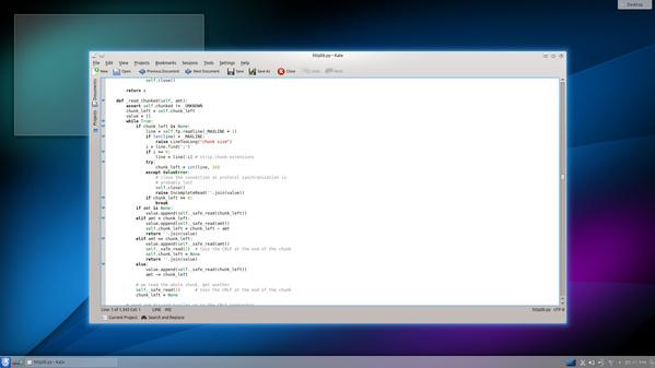 Kate in KDE SC 4.12