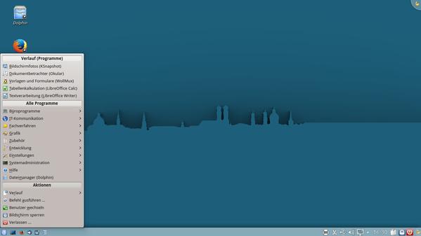 KDE-Desktop von LiMux