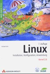 Cover von Linux Installation, Konfiguration, Anwendung