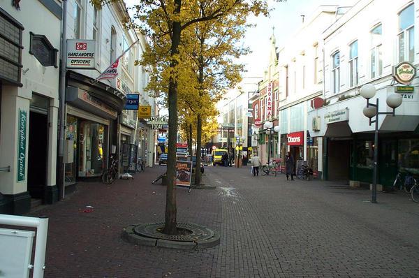 Die Fußgängerzone von Enschede