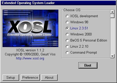 XOSL ist gestartet