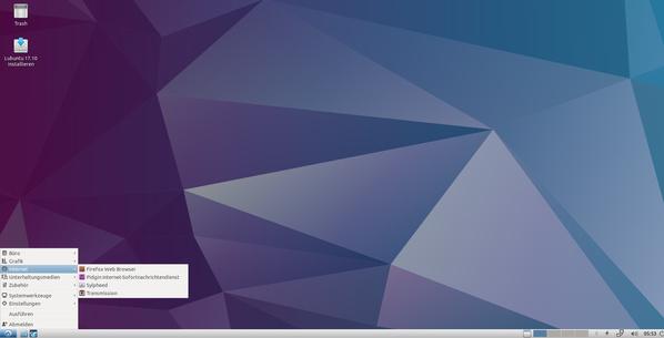 Lubuntu 17.10