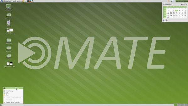 Desktop von Mate 1.12