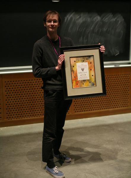 Matthew Garrett, Preisträger des FSF Award 2013