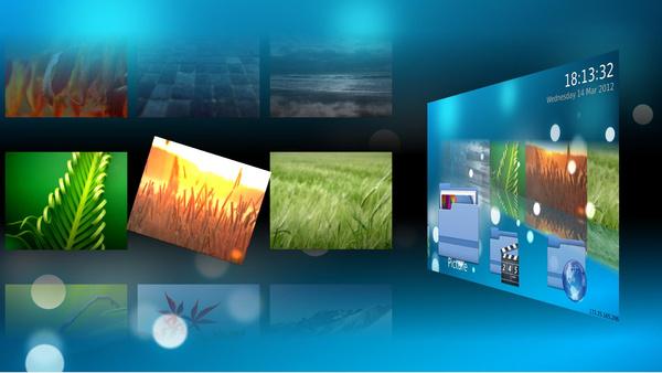 Mit Qt 5 implementierte Oberfläche mit Medien