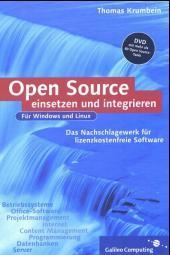Cover von Open Source einsetzen und integrieren