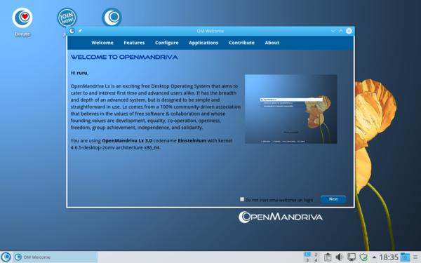 OpenMandriva Lx 3.0