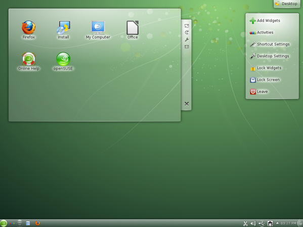 openSUSE 12.2 m1