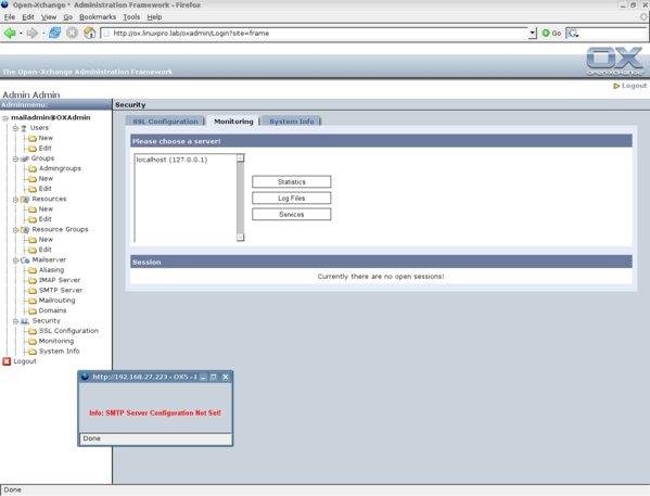 Open-Xchange Server anpassen - Erste Schritte - Teil 1 ...