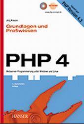 Cover von PHP 4 - Grundlagen und Profiwissen