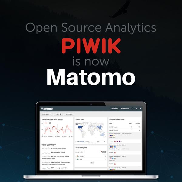 Piwik benennt sich in Matomo um