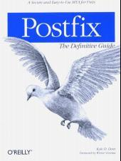 Cover von Postfix. The Definitive Guide
