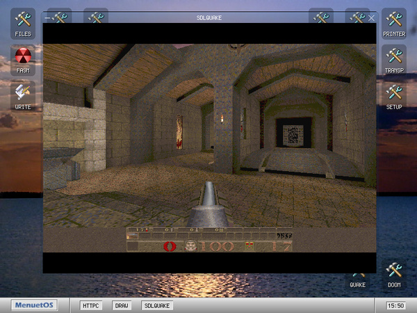 Quake unter MenuetOS 1.0
