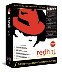 Verpackung Red Hat Linux 7