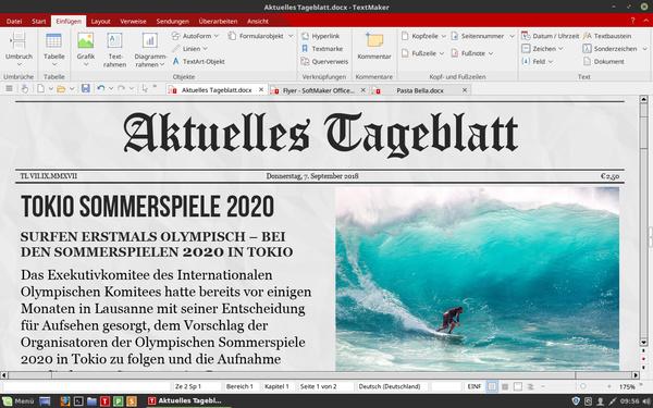 SoftMaker Office 2018 - Textmaker