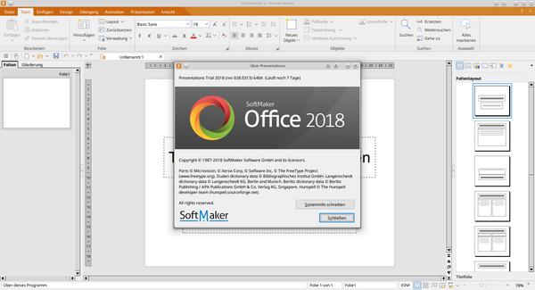 softmaker office standard vs professional