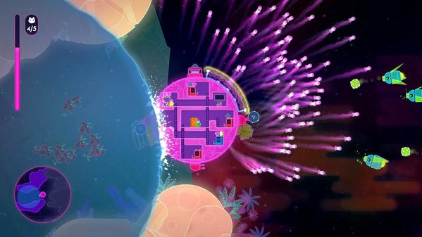 Spielszene aus Lovers in a Dangerous Spacetime