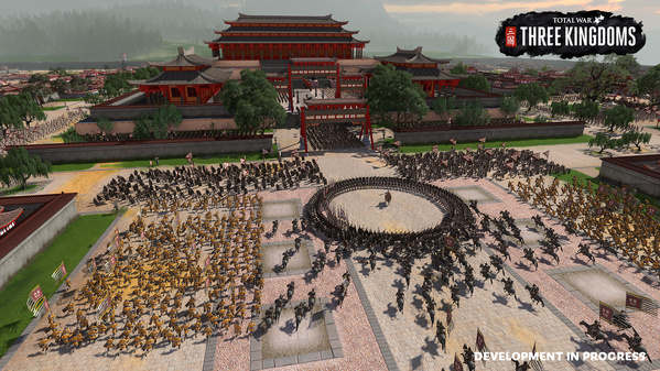 Spielszene aus »Total War: Three Kingdoms«
